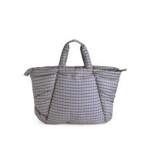 Oversized Puffy Tote Bag - White