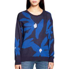 Milano Pullover in blau für Damen