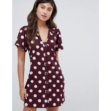 Vero Moda - Nachmittagskleid mit Punktmuster - Mehrfarbig