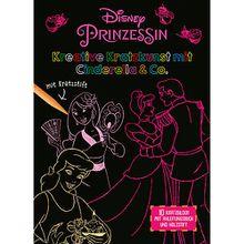 Buch - Disney Prinzessin: Kreative Kratzkunst mit Cinderella & Co.