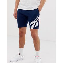 Reebok - Classics - Shorts mit Vector-Print in Marineblau - Navy