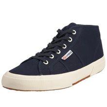 Superga 2754 Cotu, Unisex-Erwachsene Hohe Sneaker, Blau (Blau/933 Navy), 36 EU,(3.5UK)