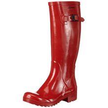 Aigle Damen Brillantine Gummistiefel Rot (ruby 8) 37