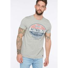 Petrol Industries T-Shirt grey denim Herren