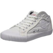 Pepe Jeans London Damen Industry Plain 18 Sneaker, Weiß (White), 38 EU