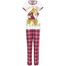 Disney BrummbärDamen Grumpy Schlafanzug X-Large