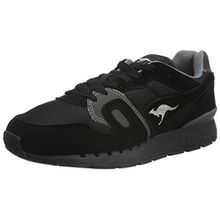 KangaROOS Unisex-Erwachsene Omnicoil II Low-Top, Schwarz (Black/Dk Grey 522), 42 EU