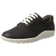 Jana Damen 23714 Sneakers, Schwarz (Black 001), 38 EU