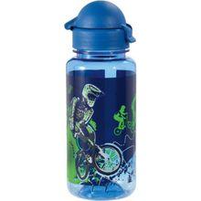 Scout Trinkflasche BMX, 400 ml (Kollektion 2018) blau/grün