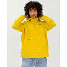 adidas Originals - Gelbe Windjacke zum Hineinschlüpfen mit Dreiblatt-Logo - Gelb