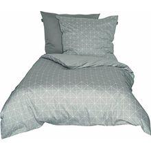 Schöner Wohnen Bettwäsche-Set, 100 Prozent CO, Beige, 220 x 155 cm