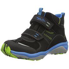 Superfit SPORT5 Mini 700239, Jungen Hohe Sneakers, Schwarz (Schwarz 00), 33 EU