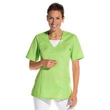 clinicfashion 12612042 Schlupfhemd hellgrün für Damen, Mischgewebe, Größe L