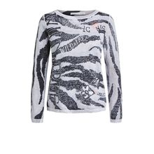 Pullover im Zebradruck