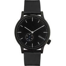 Komono Uhren schwarz