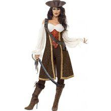 Hochsee-Piratin Kostüm