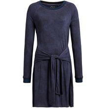 khujo Kleid YULIA AOP Jerseykleider blau Damen