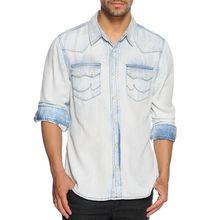 LTB Hemd Regular Fit in blau für Herren