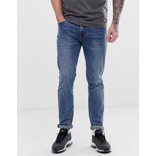 Levi's - 511 - Schmale Jeans mit niedriger Taille un heller Baltic Adapt-Waschungwash - Blau