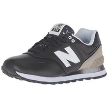 New Balance Damen Sneaker, Schwarz/Grau, 37.5 EU (5 UK)
