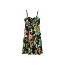 MANGO Kleid 'Fame5' mischfarben / schwarz