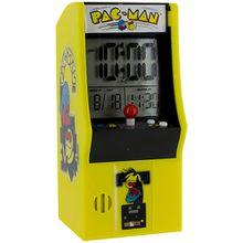 PAC-MAN Arcade Wecker mit LED Anzeige
