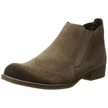 Remonte Damen R9370 Chelsea Boots, Beige (Trueffel/25), 44 EU