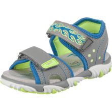 SUPERFIT Sandale 'Mike 2' blau / grau / neongrün