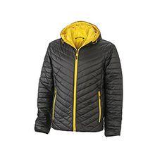 Men's Lightweight Jacket | black/yellow | XXL im digatex-package