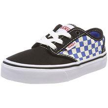 Vans Unisex-Kinder Atwood Sneaker, Mehrfarbig (Checkerboard), 38 EU