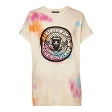 Balmain Verziertes T-Shirt aus Baumwolle