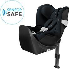 Auto-Kindersitz Sirona M2 i-Size inkl. SENSORSAFE und BASE M, Urban Black schwarz