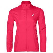 Asics - Women's Silver Jacket - Laufjacke Gr L;M;S;XL;XS schwarz;rosa/rot