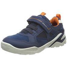 Ecco Jungen Biom Vojage Sneaker, Blau (Poseidon), 33 EU