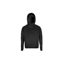 HORIZN STUDIOS Travel Hoodie - Mit ausklapbarer Schlafmaske - Black
