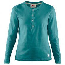 Fjällräven - Women's Greenland Buttoned L/S - Longsleeve Gr M;XS rot/rosa