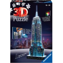 Ravensburger 3D-Puzzle »Empire State Building Night Edition«, 216 Teilig