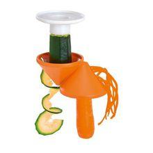 3-tlg. Spiralschneider orange