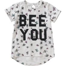 T-Shirt NMFFABILLE , Organic Cotton weiß Mädchen Kleinkinder