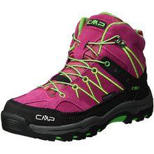 CMP Unisex-Erwachsene Rigel Trekking-& Wanderstiefel, Pink (Ibisco), 35 EU