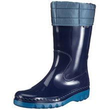 Romika Shuttle II 05002, Unisex - Kinder Stiefel, Blau (marine-petrol 594), EU 37