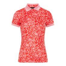 J.Lindeberg Poloshirt 'Tour Tech' pink