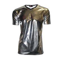 InsanityHerren T-Shirt Silber Silver Metallic
