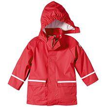 Sterntaler Kinder Unisex Regenjacke, Alter: 12-18 Monate, Größe: 86, Rot