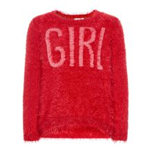 NAME IT Strickpullover pink / rot