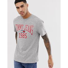 Tommy Jeans - College-T-Shirt - Grau
