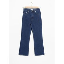Flare Denim Jeans - Blue