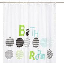 Kleine Wolke 5219654305 Duschvorhang Bathroom, 180 x 200 cm, mint