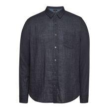 Vince Hemd aus Baumwolle