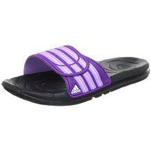 adidas Taedia Vario W G46719 Damen Sandalen, Mehrfarbig (Black 1/Power Purple S12/Super Purple S12), EU 42 (UK 8)